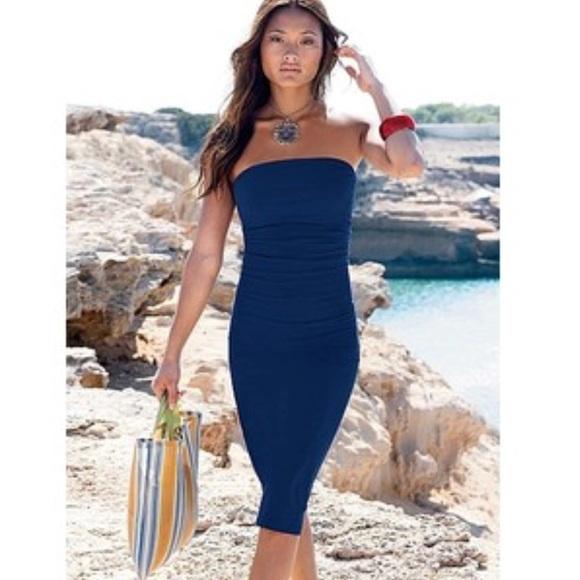35bea11742 Victoria's Secret tube strapless bra dress red. M_5a3ee61dcaab44363605f3d2